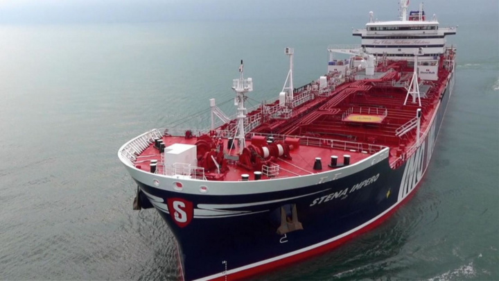 Stena, Uk, Oil tanker, Iran, Strait of Hormuz