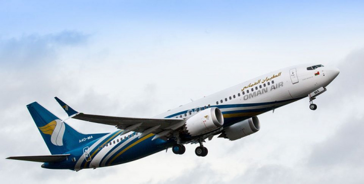 Oman air, Boeing 737 MAX, Uae, Saudi arabia, India