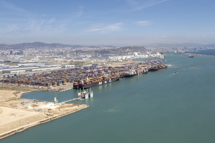 Hutchinson Ports, Reefer, Container, Barcelona