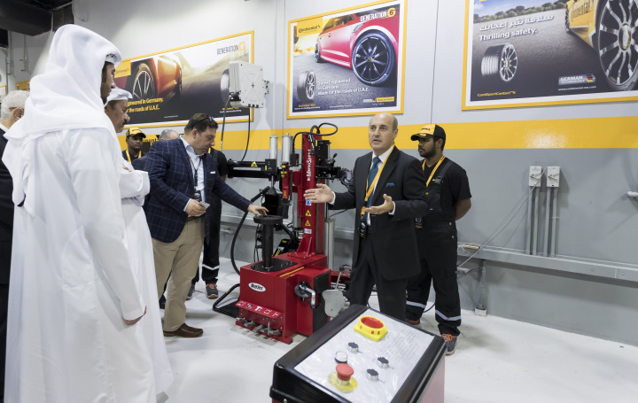 Continental, Tyres, Roads, Uae