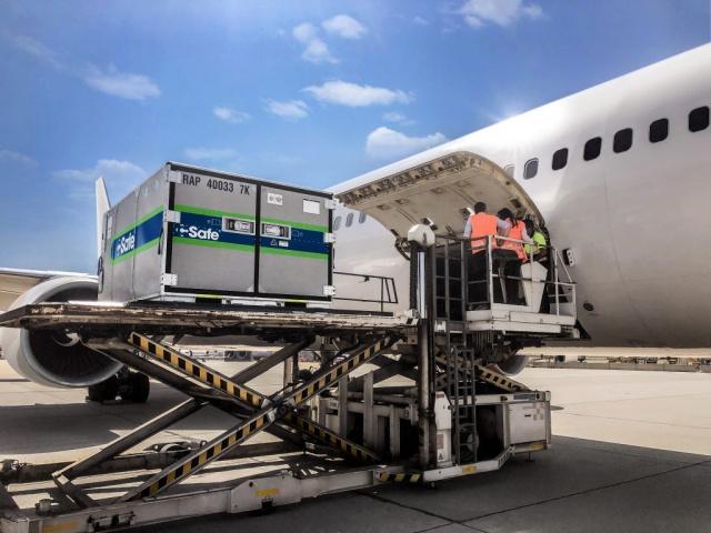 Lufthansa, C-safe, Air freight, Container, Pharma