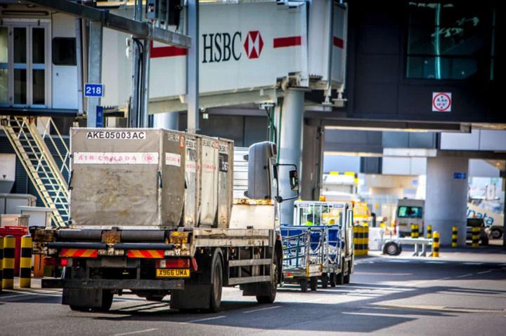 Heathrow, Trucks, Congestion