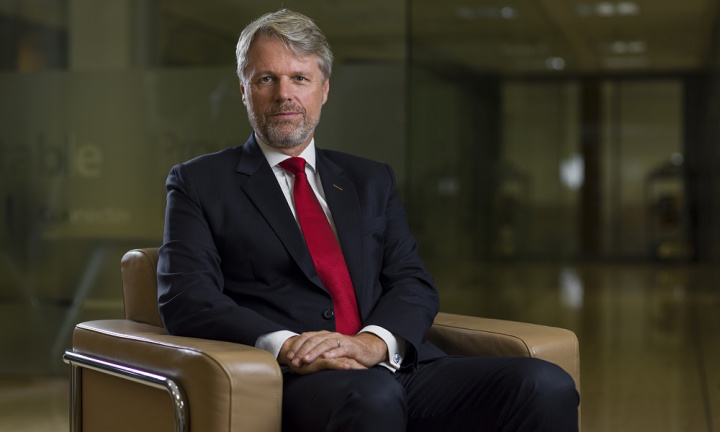 Mark Geilenkirchen, CEO of SOHAR Port and Freezone