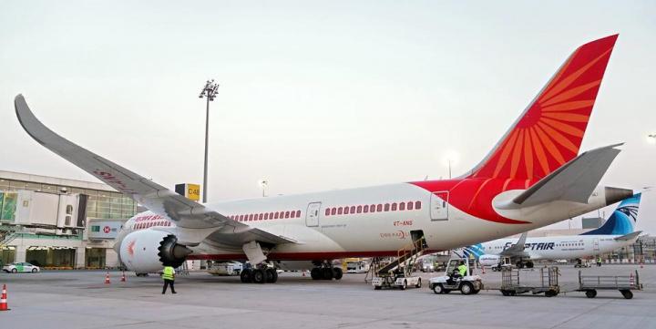 Air india, Dubai, Technical fault