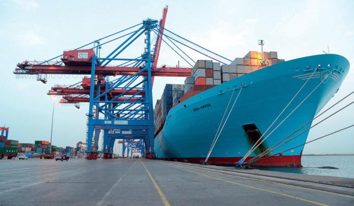 Saudi arabia, Maritime, Shipping, Maersk