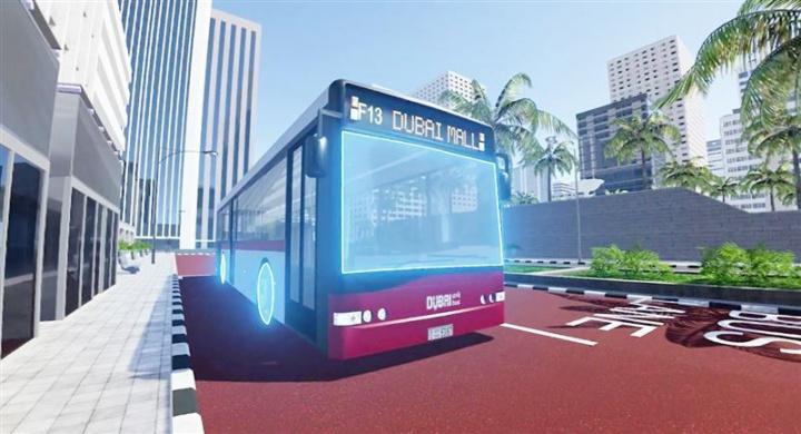 Dubai, VR, Transport, Trains