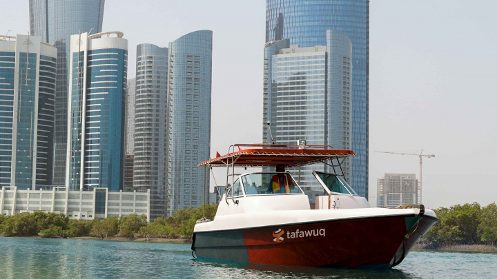 Tafawuq Facilities Management, Boat, Abu dhabi, Mangroves, Environment