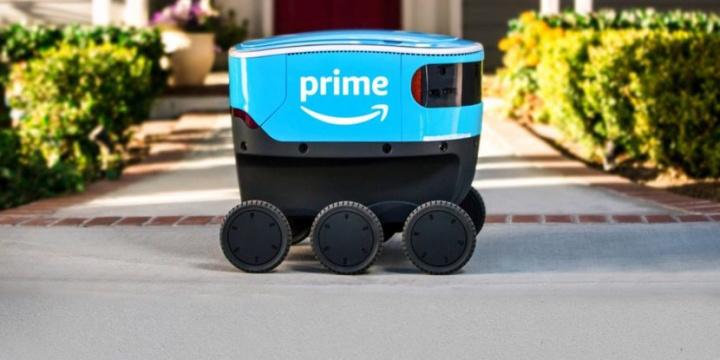 Amazon, Autonomous, Last mile, Scout robot