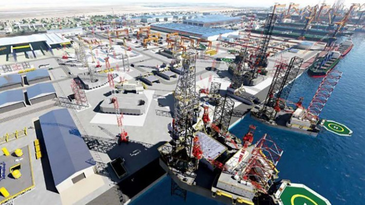 King Salman International Complex for Maritime Industries and Services, Ras Al Khair, Saudi arabia, Shipyard, Jacobs