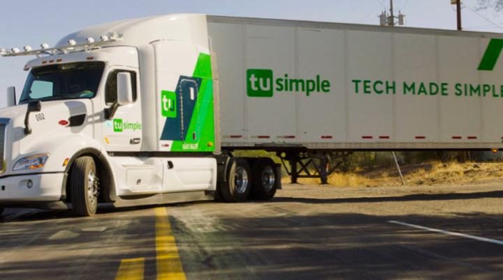 Ups, TuSimple, Autonomous, Self driving