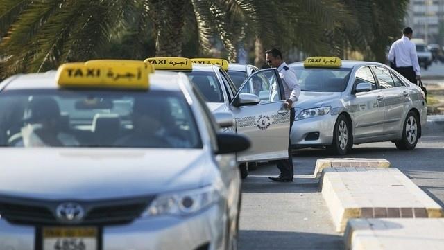 Abu dhabi, Airport taxi