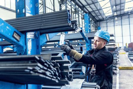 ThyssenKrupp, Materials distribution, Logistics, Warehouse
