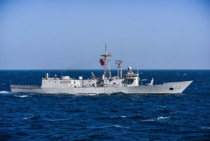 Bahrain has just one frigate in its naval fleet