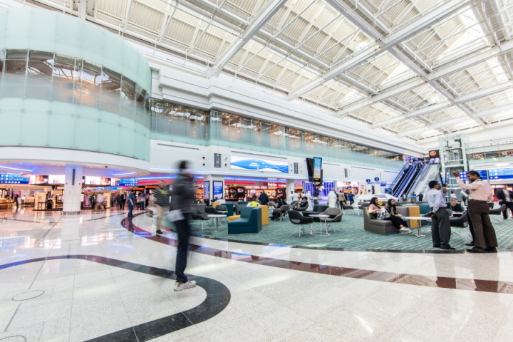 Farnek, Facilities management, Dubai airport