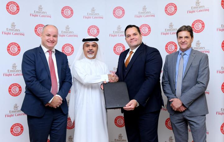 Emirates Flight Catering, Dubai, Uae, Food logistics