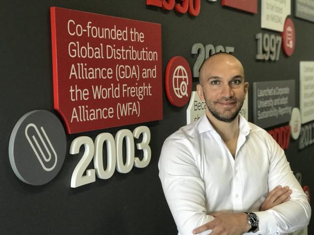 Mohammed Sleeq, chief digital officer at Aramex.