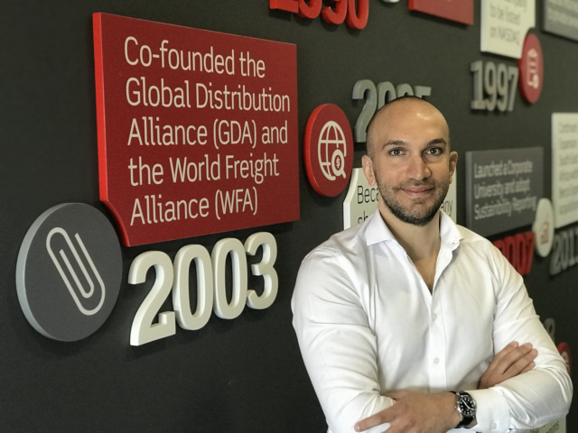 Mohammed Sleeq, Chief Digital Officer of Aramex