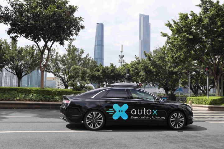 AutoX, Gitex, Dubai, Autonomous vehicles, Self driving taxi