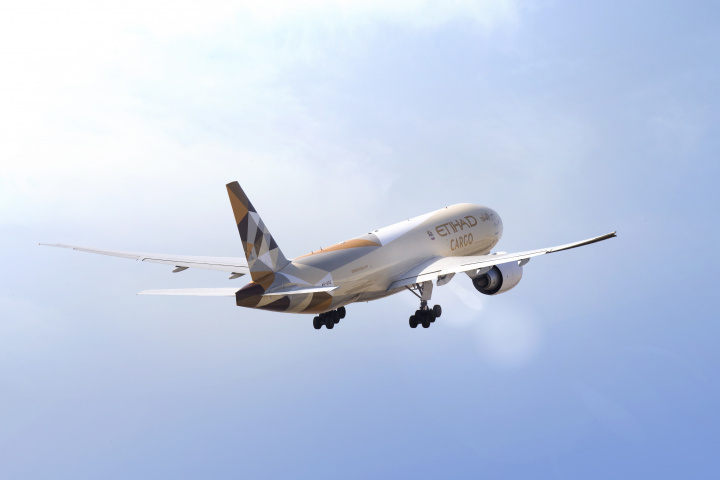Etihad cargo, Etihad, Air cargo, Air freight, Abu dhabi