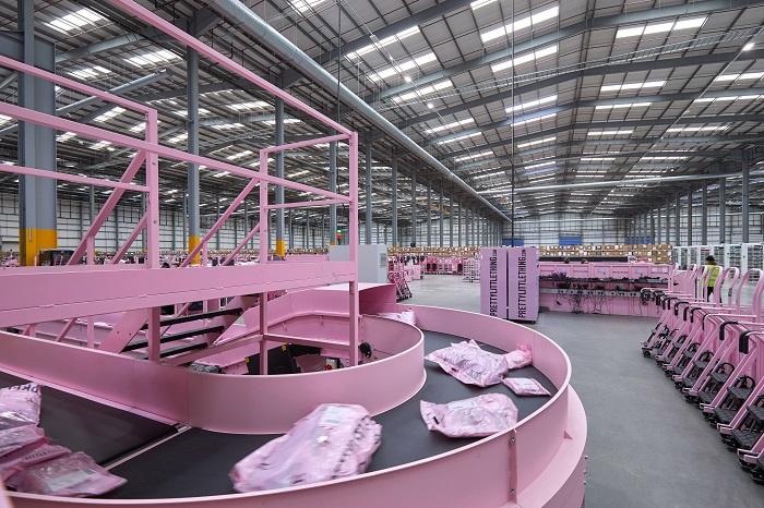 Warehouse, BS Handling, Sortation system, Mhe