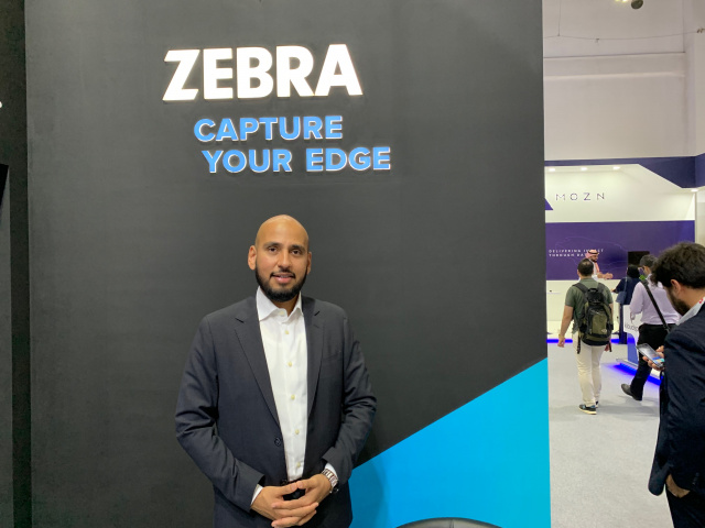 Hozefa Saylawala, director of sales for the Middle East at Zebra Technologies