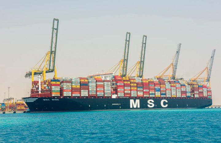 Msc, Container ship, ULCC, Saudi arabia