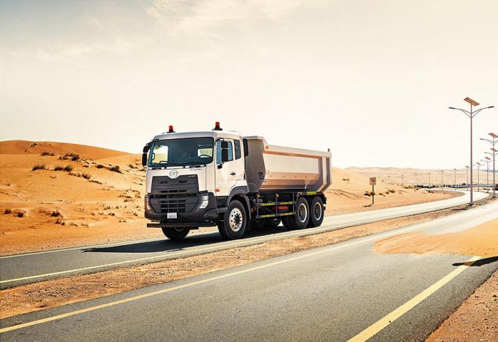 Trucks, Heavy goods vehicles, Commercial vehicle, Al hatta, Dubai