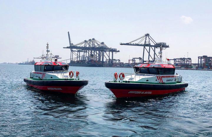 Svitzer, Oman, Sohar, Pilot boat