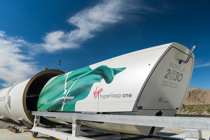 Virgin hyperloop, Saudi arabia