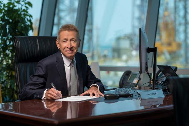 Alan Naisby, managing director of MaK Middle East