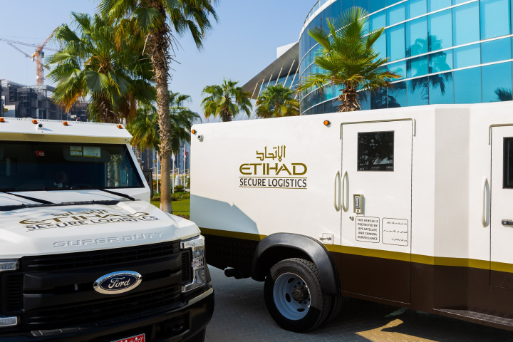 Etihad, Valuables, Security, Logistics