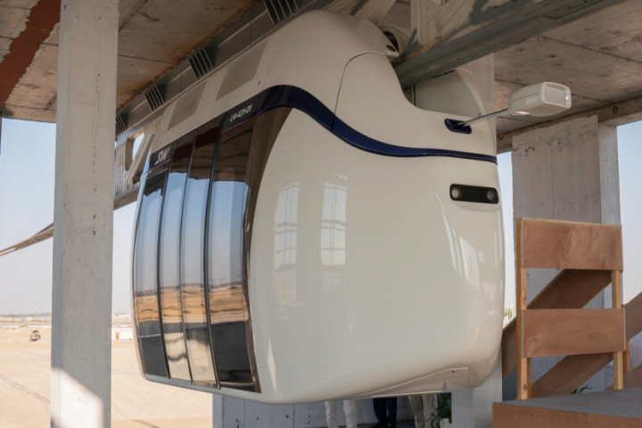 Sharjah, Unicars, Skyway, Cable cars