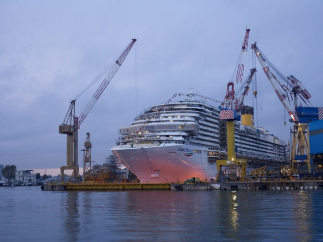 Costa Firenze, currently under construction, is the latest brand new cruise ship confirmed to be cruising from Dubai next year