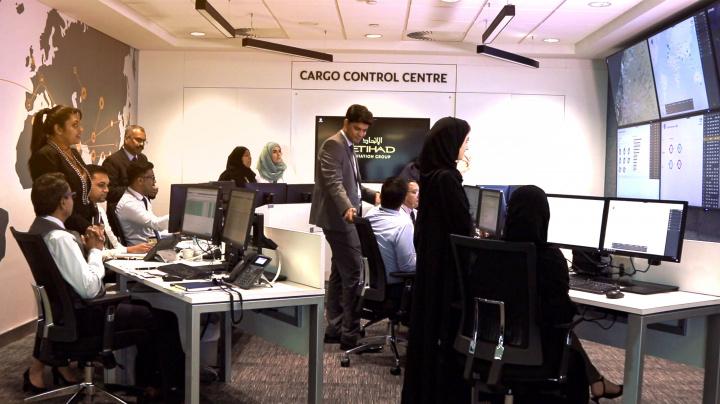 Etihad cargo, Air cargo, Control centre, Digitalisation