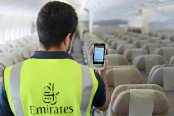 Emirates, Rfid, Aviation