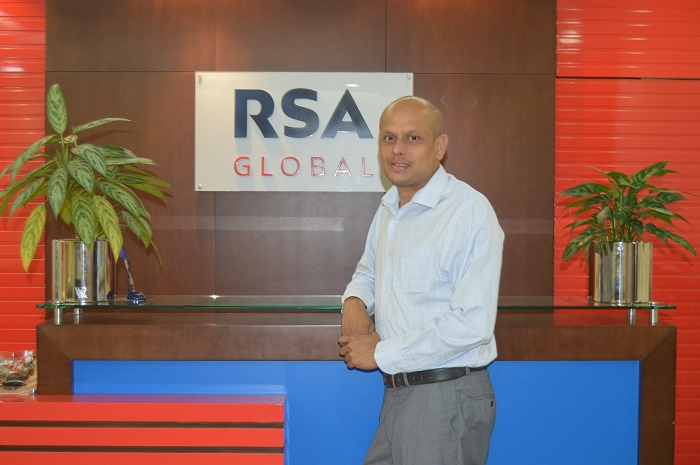 RSA Global has appointed Karthikeyan Hariharan to the position of COO