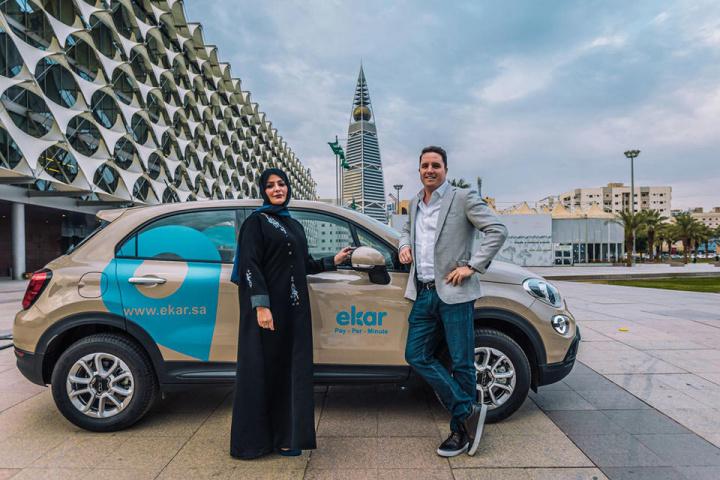 Ekar, Saudi arabia, Car sharing