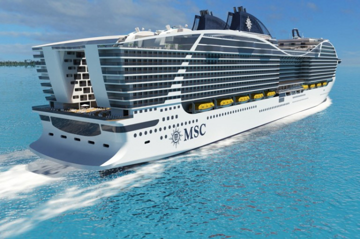 FIFA 2022, World Cup, Football, Msc cruises, Floating hotel