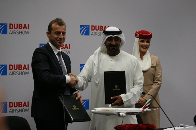 Emirates airline, Dubai Airshow, Boeing, Airbus
