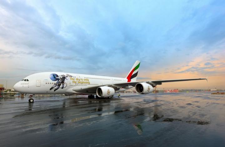 Emirates, Uae, Space, Livery