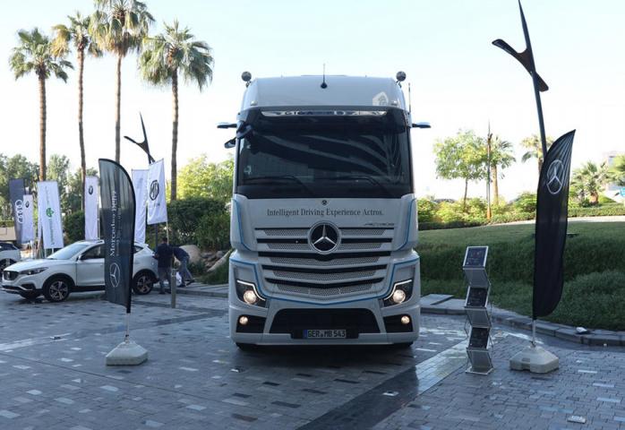 Actros, Autonomous, Trucks, Uae