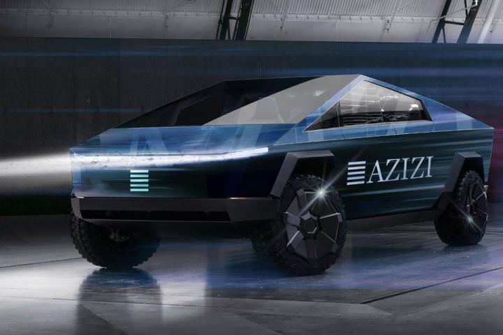 Azizi, Tesla, Transport, Roads