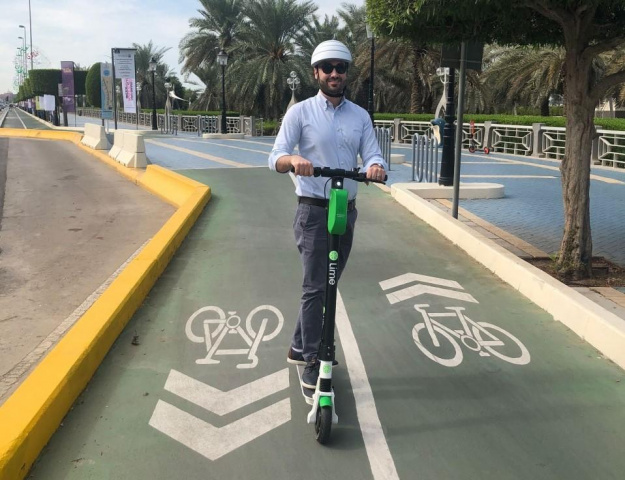 Scooter, Electric, Lime, Abu dhabi