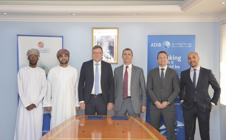 """Oman Shipping Company (OSC)'s USD $80 million Sharia based leasing facility """"Ijarah"""" with ADIB is the first of its kind in the company's history"""