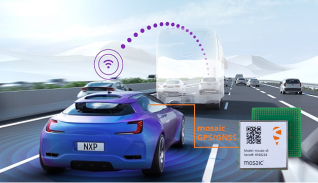 Septentrio mosaicTM GNSS module allows for safer driving.