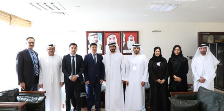 Republic of Kazakhstan's Ambassador in UAE visits FTA