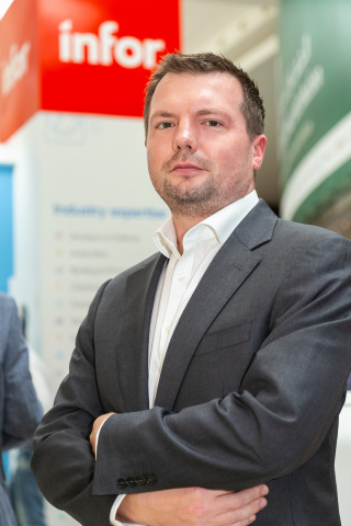Jonathan Wood, Infor general manager, Middle East and Africa (MEA)