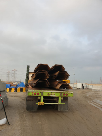 Al Bader shipping handled the breakbulk cargo from Kuwait to Mozambique.