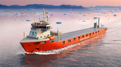 Four short-sea cargo vessels being built for Wijnne & Barends will feature LNG propulsion and storage systems provided by Wärtsilä.