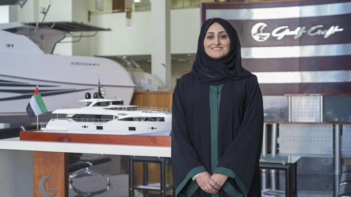 Abeer Alshaali, acting CEO, Gulf Craft